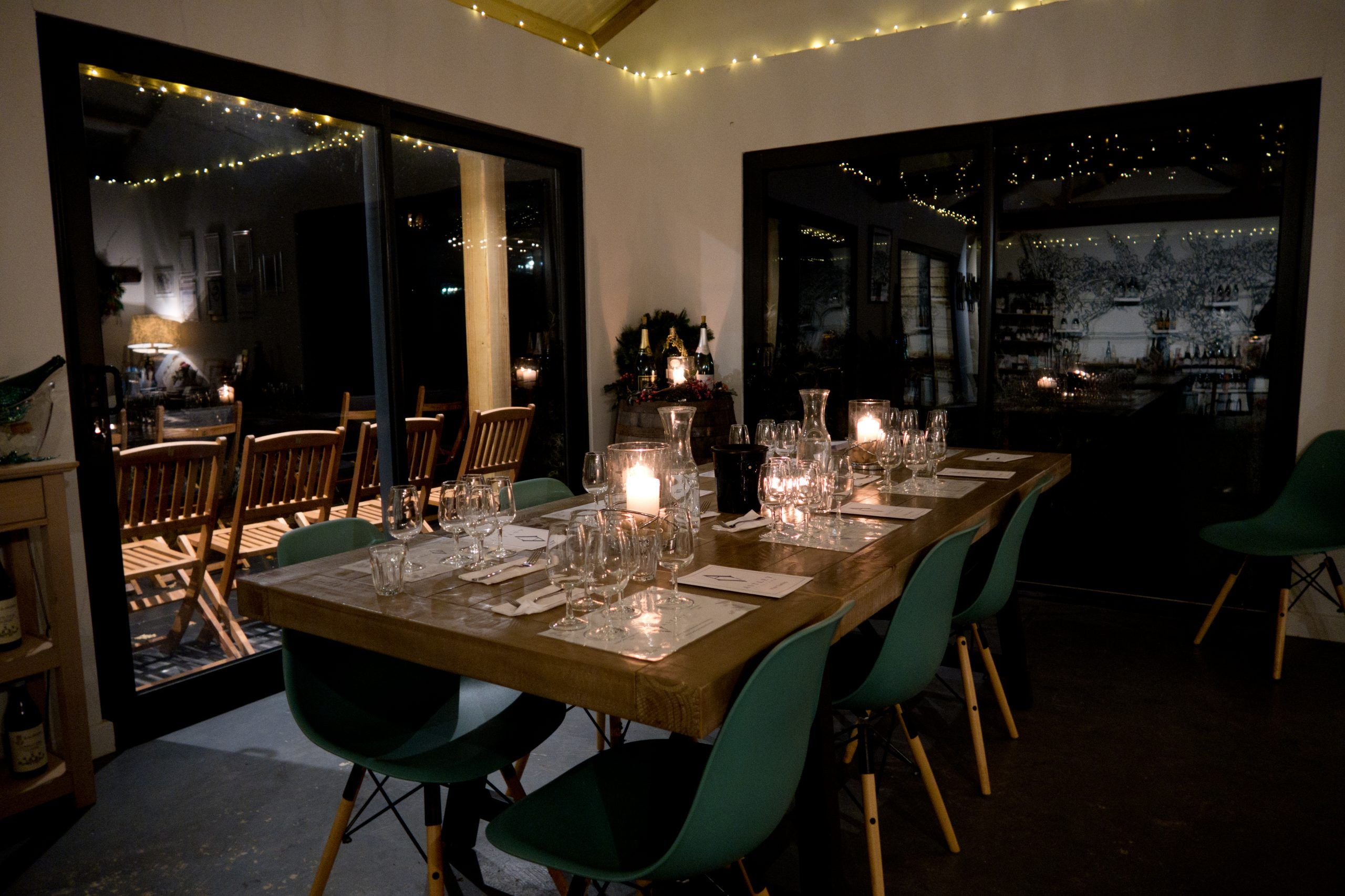 Astley Vineyard - evening wine tasting event