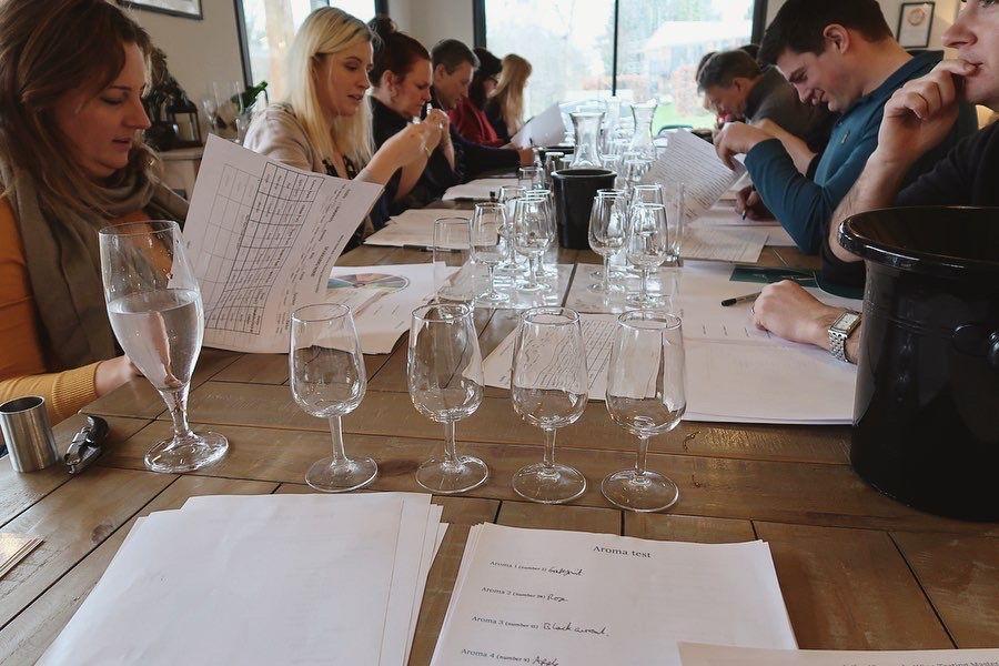 Astley Vineyard - wine education