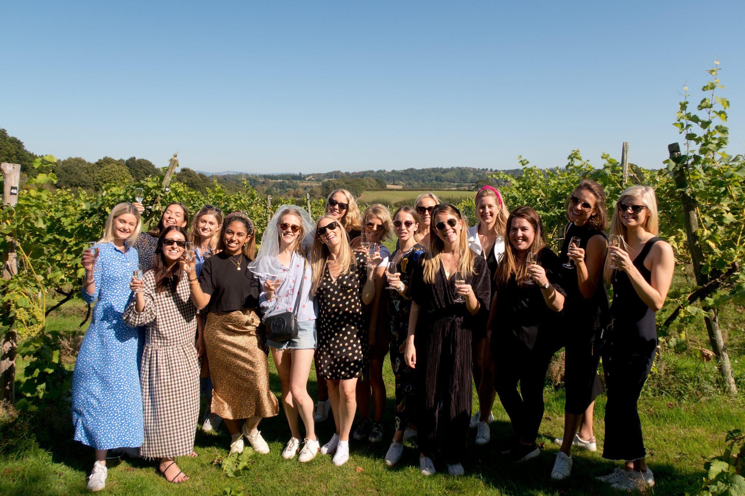A vineyard tour in 2019
