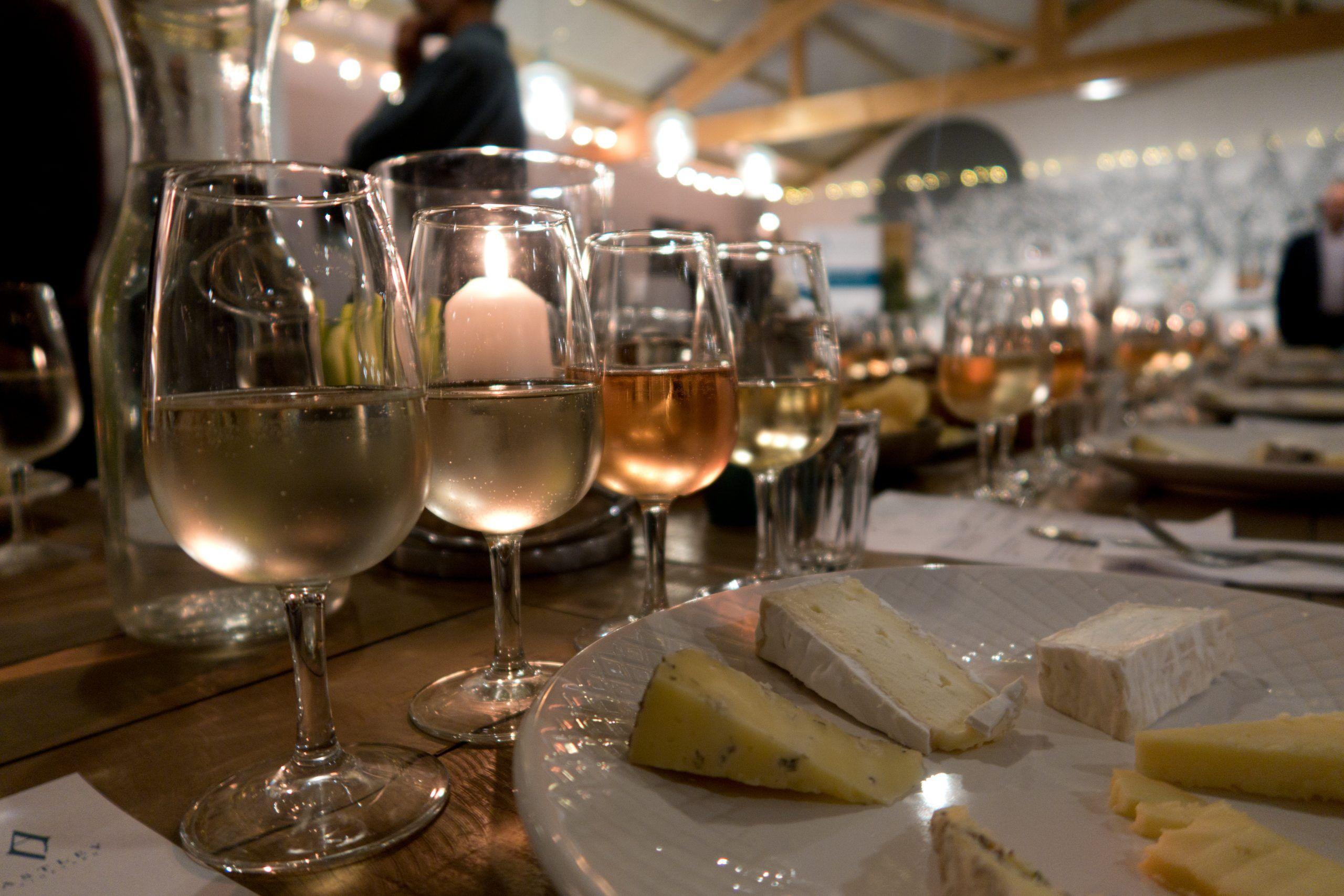 Astley Vineyard - wine & cheese event