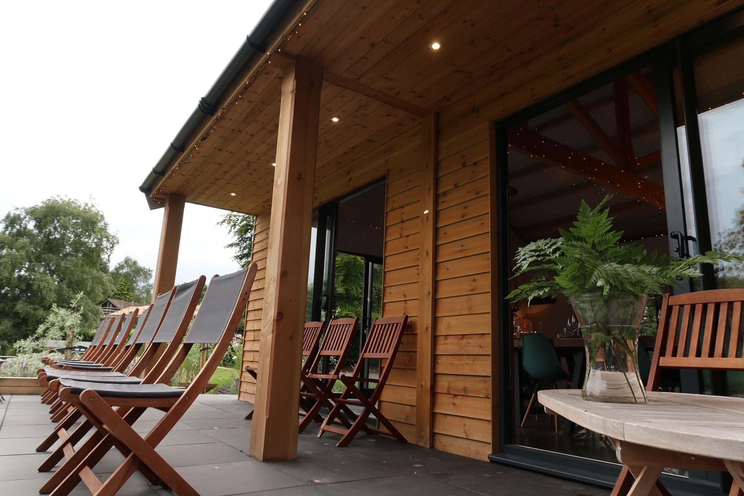 Astley Vineyard - patio