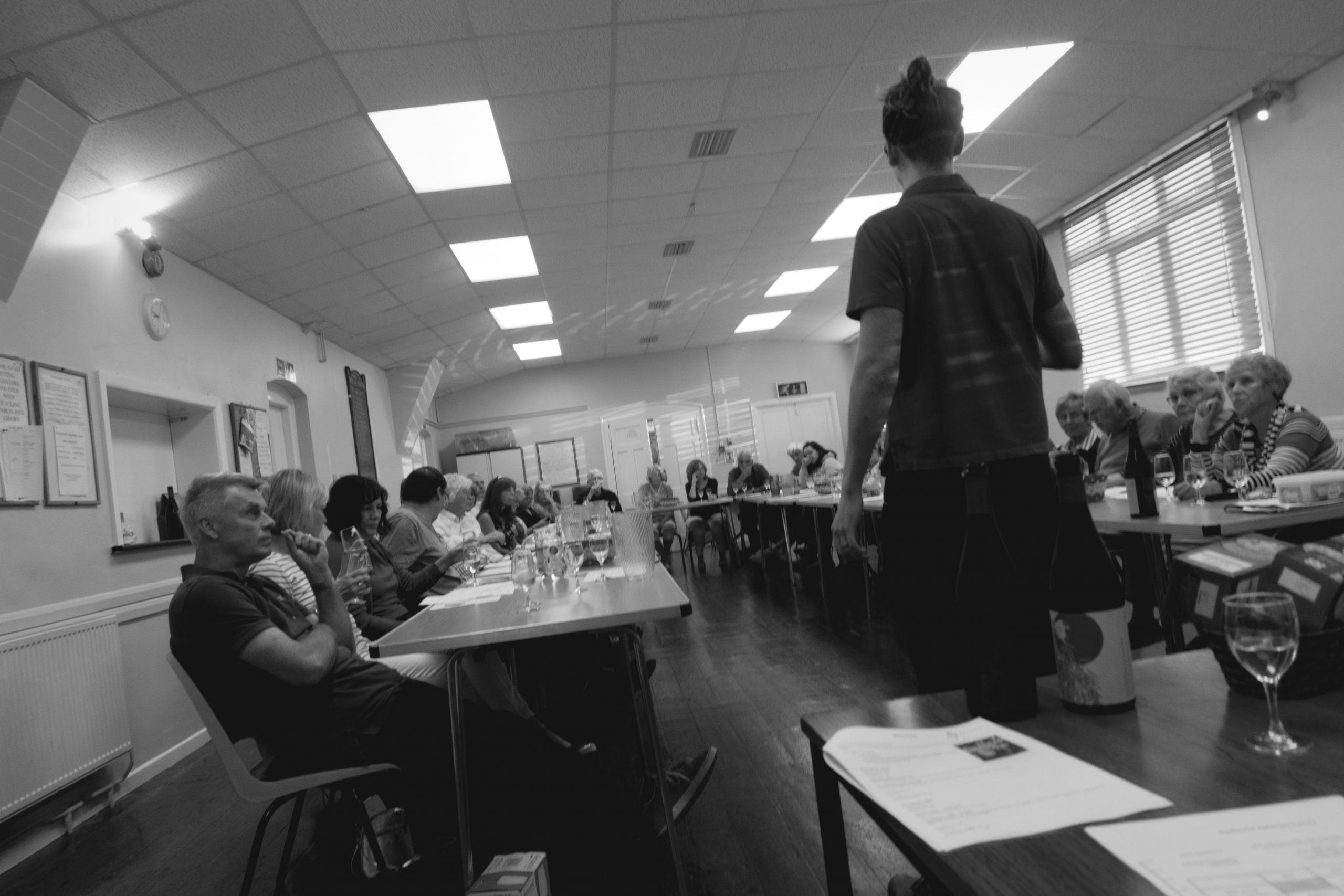 Astley Vineyard - wine society talk