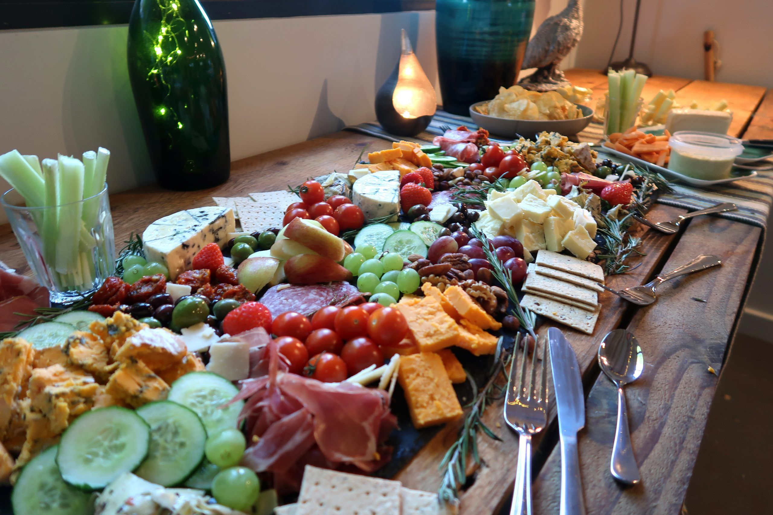 Astley Vineyard - buffet