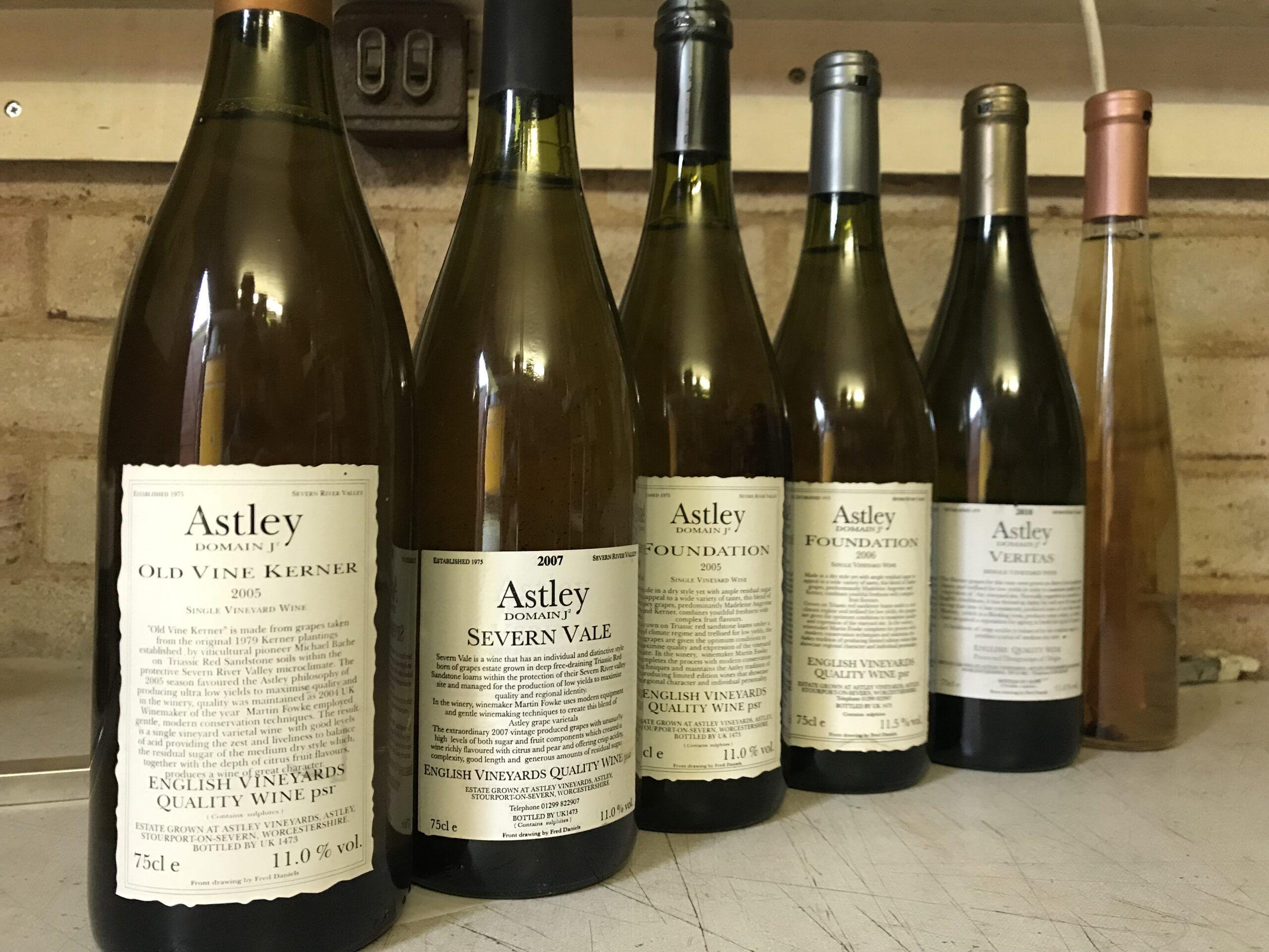 Astley Vineyard - Vintage wines