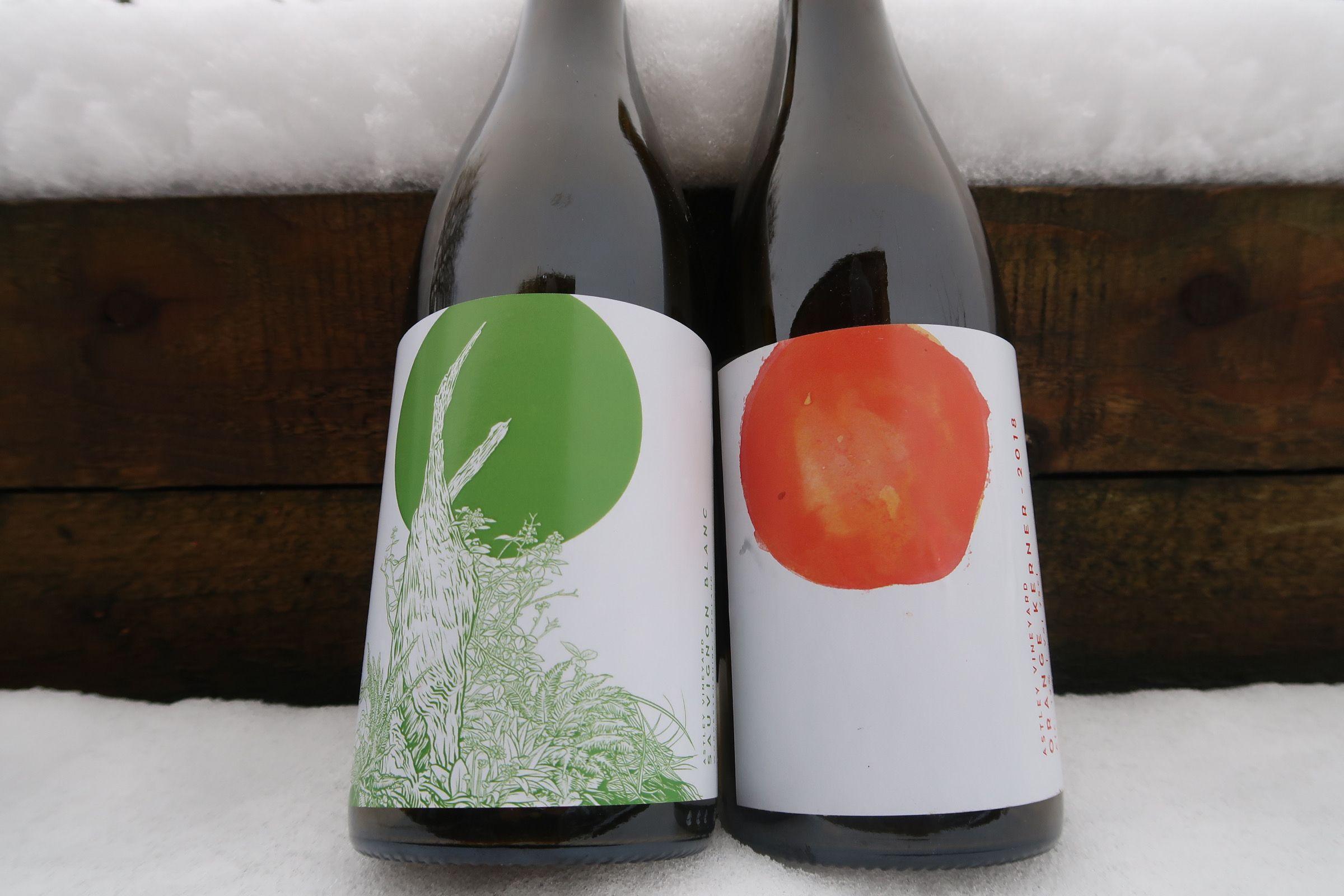 Astley Vineyard - Sauvignon & Orange wine