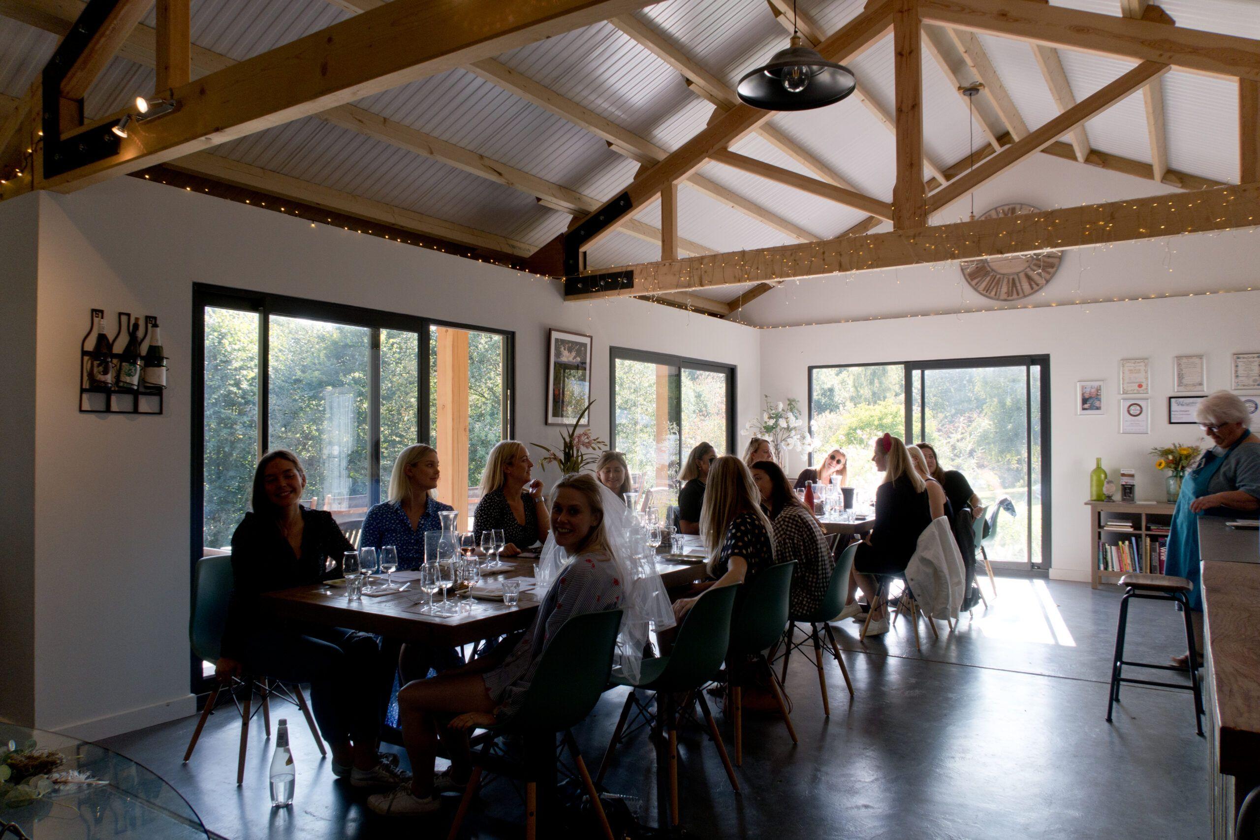 Astley Vineyard - vineyard tour tasting
